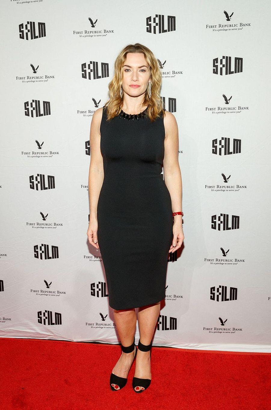 Kate Winslet auxSFFILM Awards à San Francisco en décembre 2017