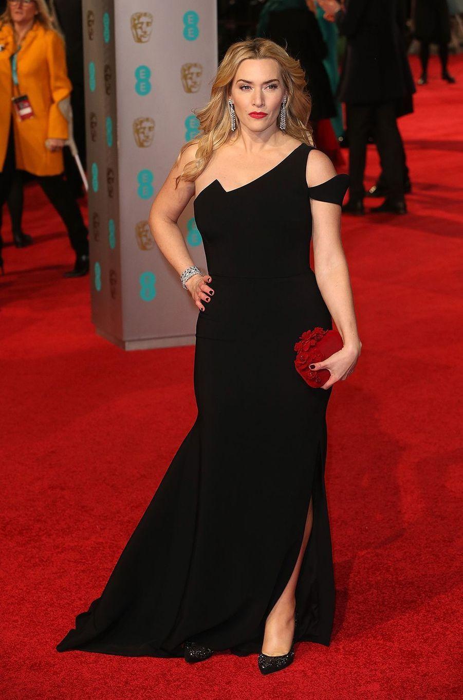 Kate Winslet à la cérémonie des BAFTA à Londres en février 2016