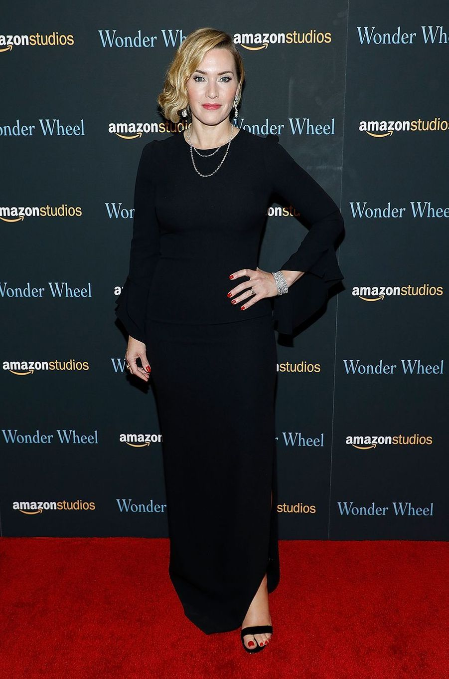 Kate Winslet à l'avant-première du film «Wonder Wheel» à New York en novembre 2017