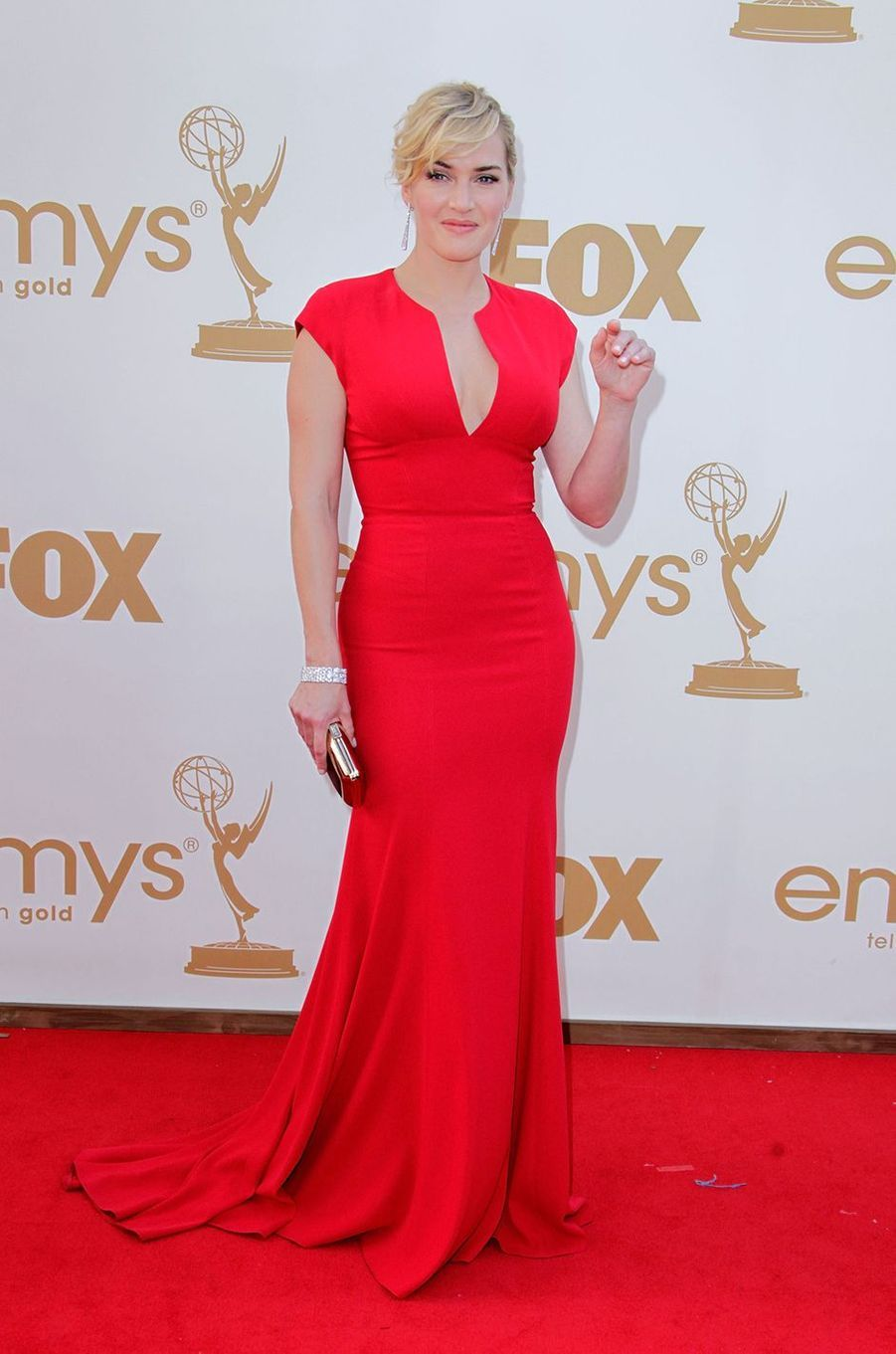 Kate Winslet aux Emmy Awards à Los Angeles en septembre 2011