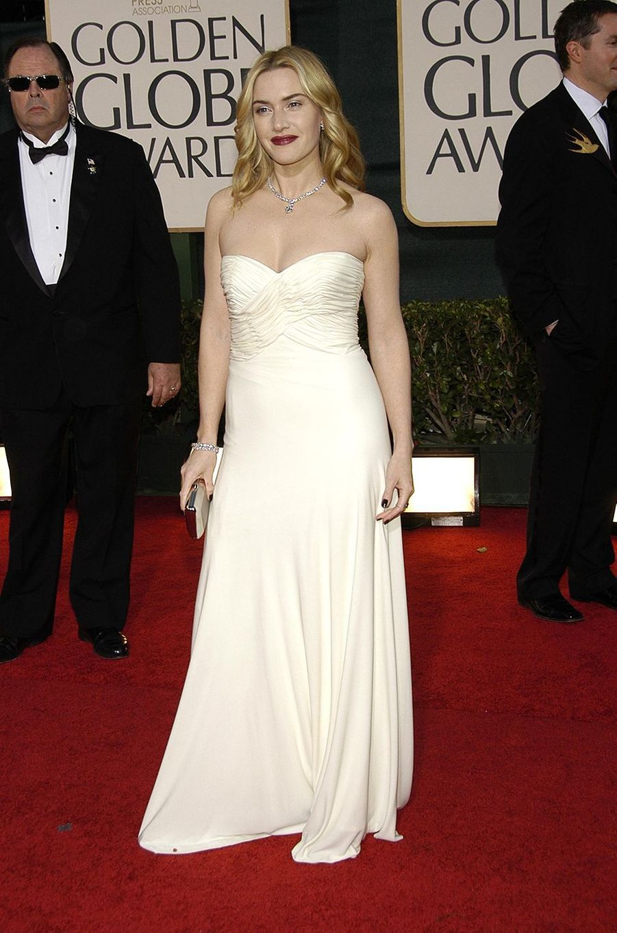 Kate Winslet aux Golden Globes à Los Angeles en janvier 2007