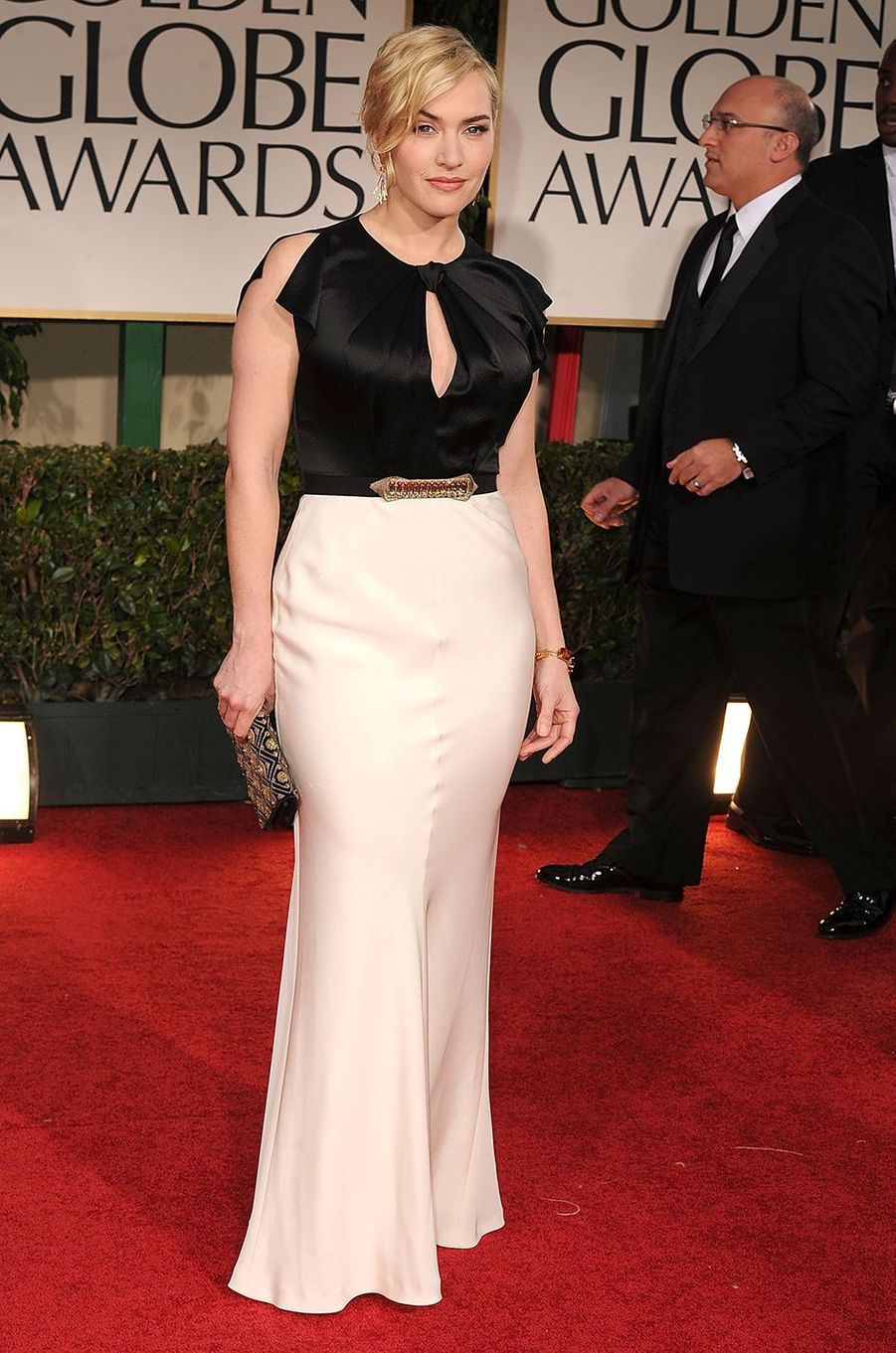 Kate Winslet aux Golden Globes à Los Angeles en janvier 2012
