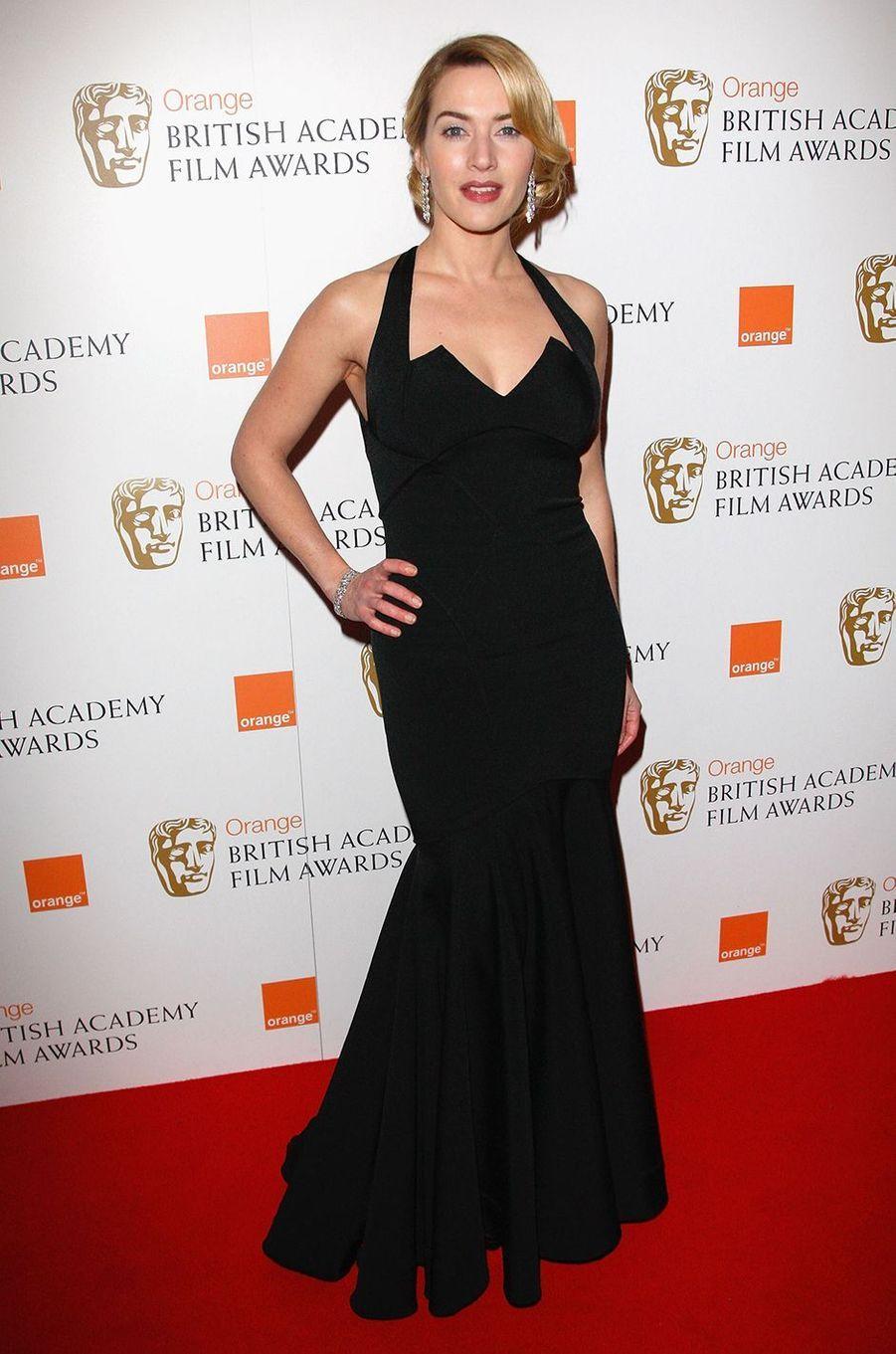 Kate Winslet aux BAFTA Awards à Londres en février 2009