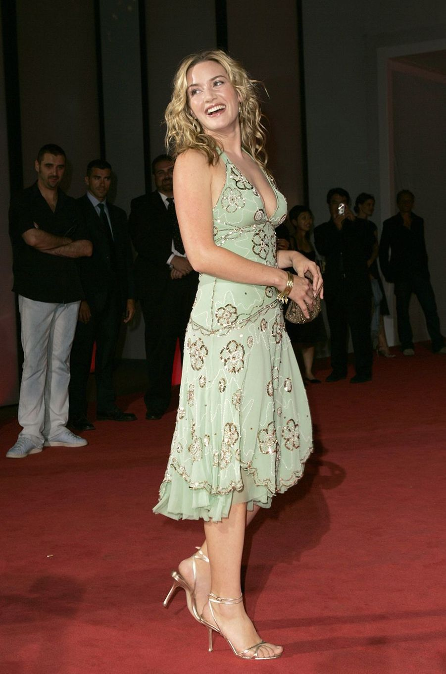 Kate Winslet à la présentation du film «Neverland» lors du Festival du film international de Venise en septembre 2004