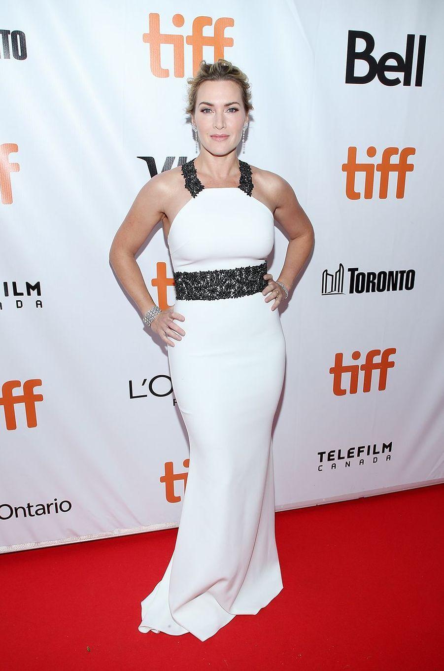 Kate Winslet à la première du film «La Montagne entre nous» lors du Festival international du film de Toronto en septembre 2017
