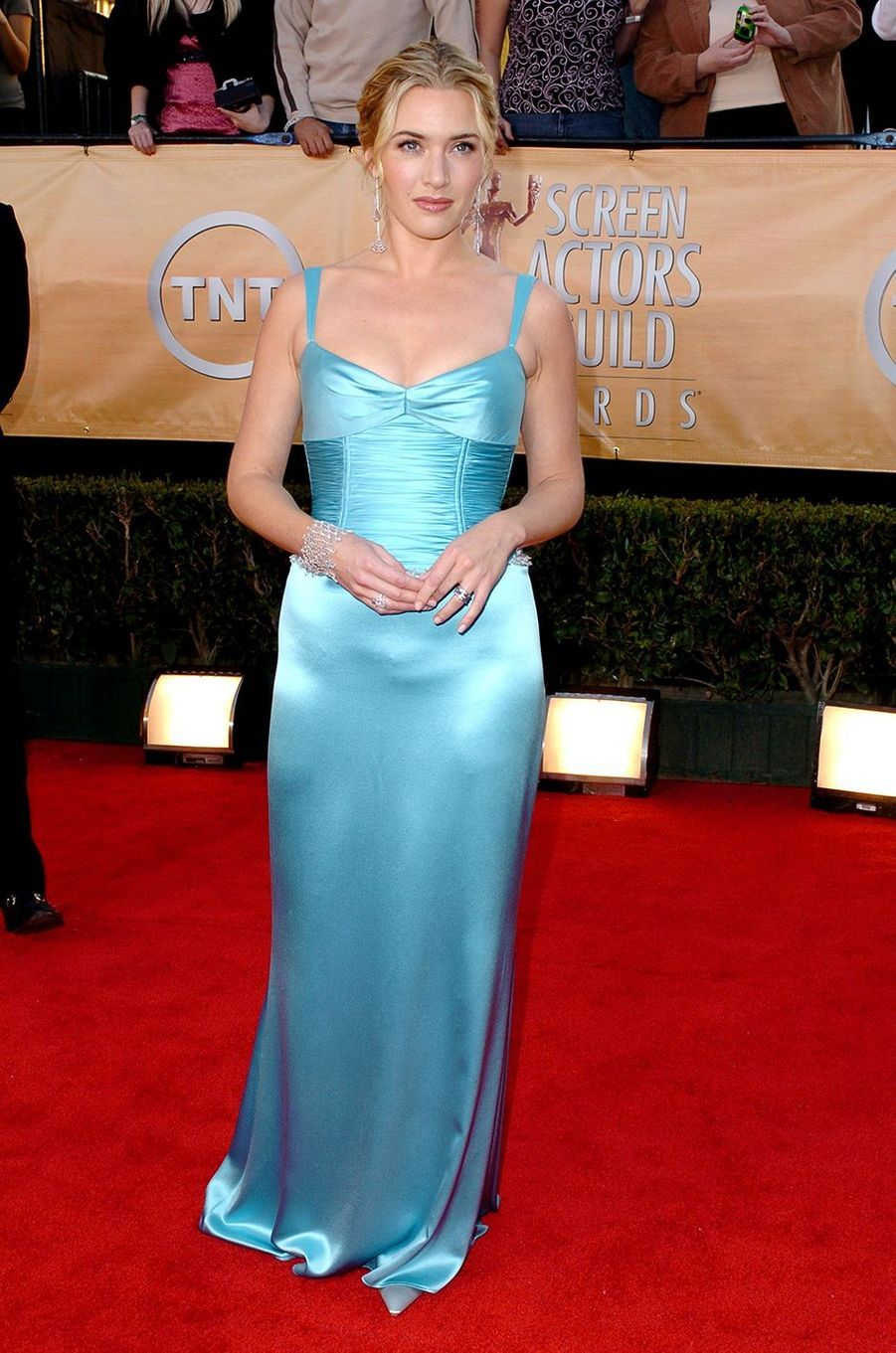 Kate Winslet aux Screen Actors Guild Awards à Los Angeles en février 2005
