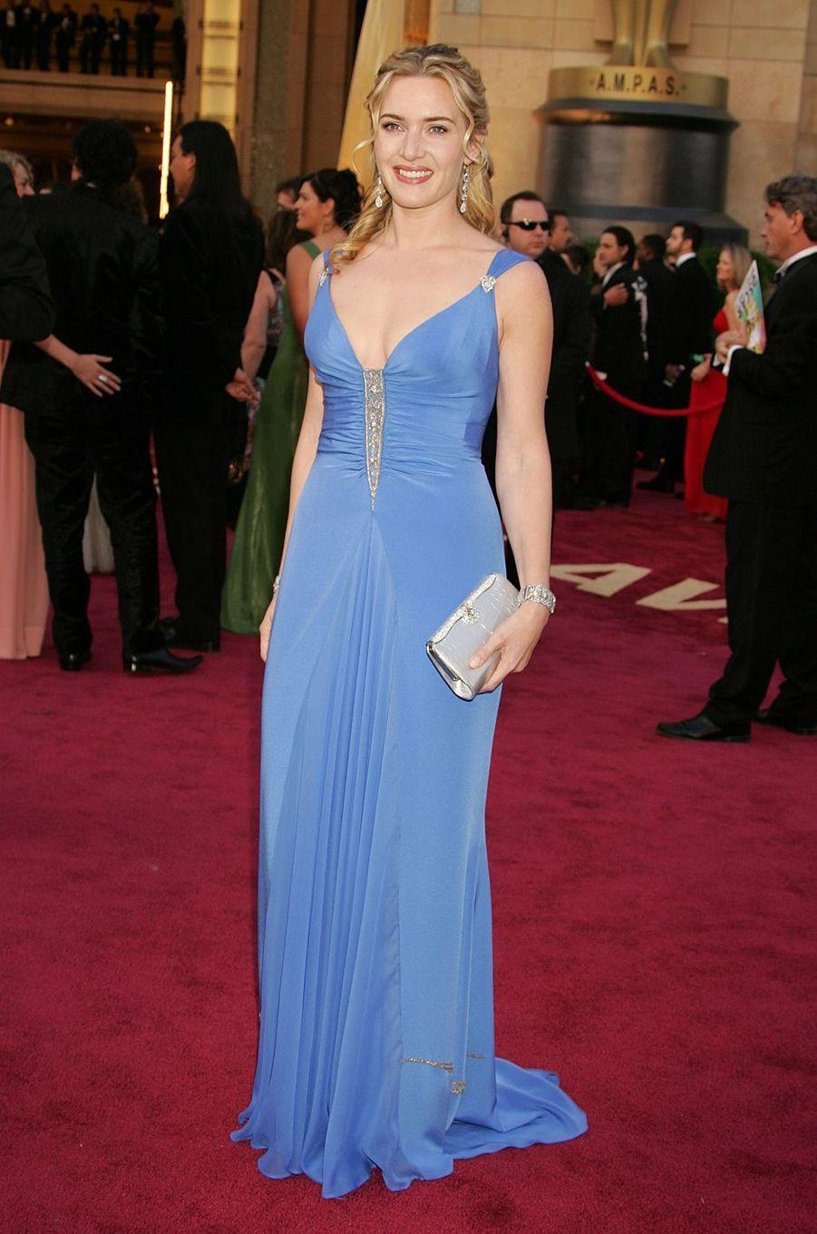 Kate Winslet aux Oscars à Los Angeles en février 2005