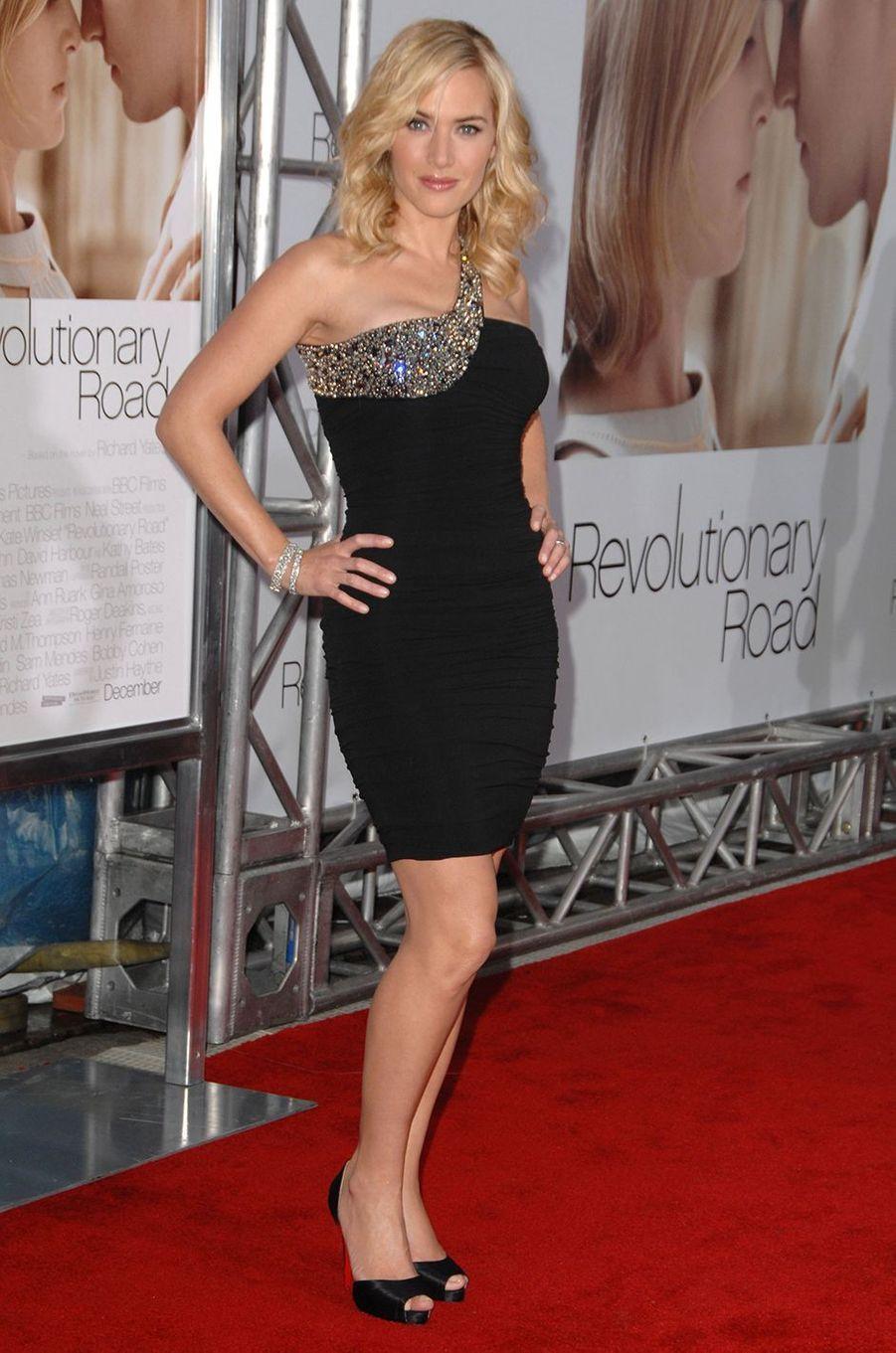 Kate Winslet à l'avant-première du film «Les Noces rebelles» à Los Angeles en décembre 2008