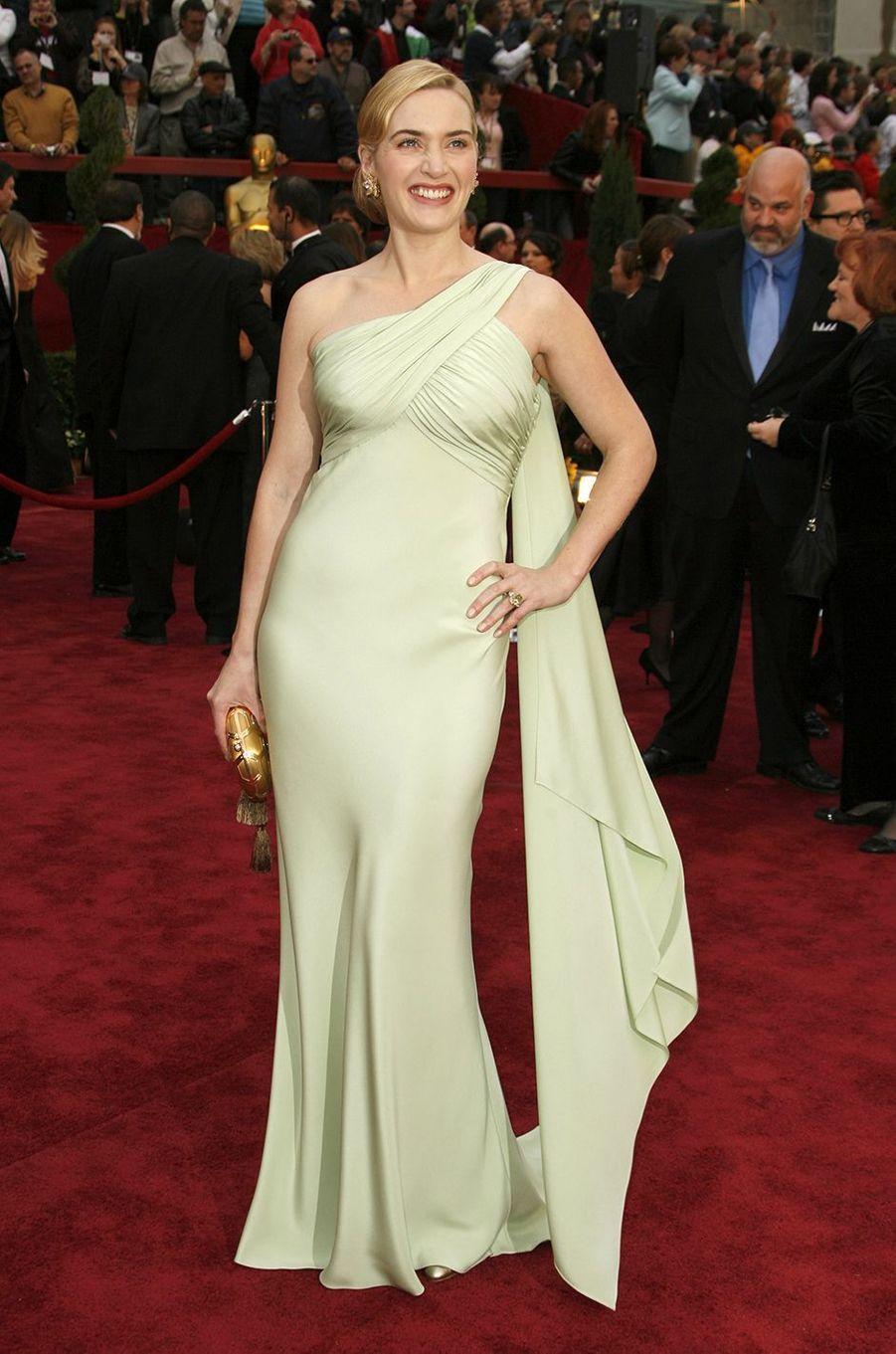 Kate Winslet aux Oscars à Los Angeles en février 2007