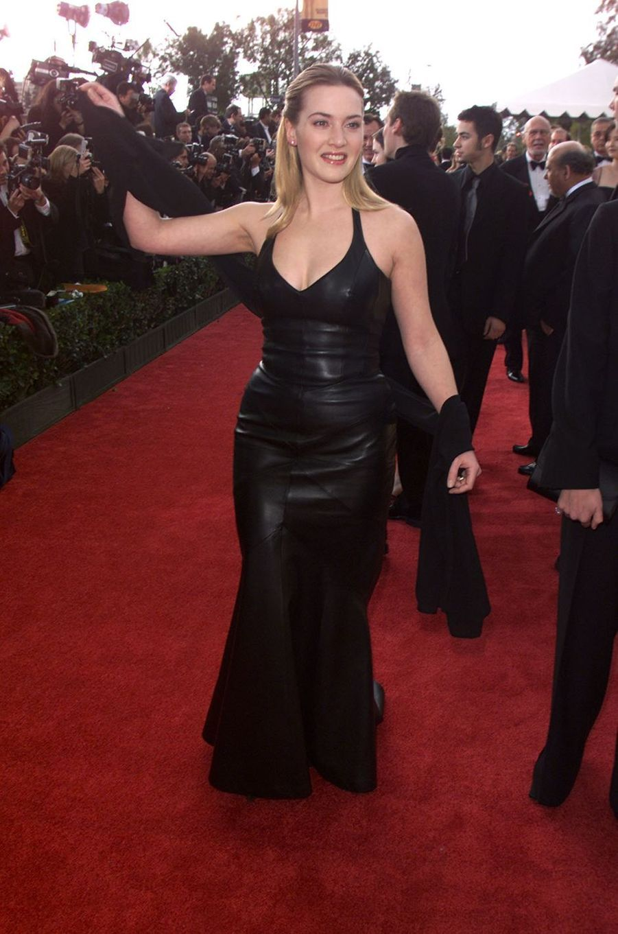Kate Winslet aux Screen Actors Guild Awards à Los Angeles en mars 2001