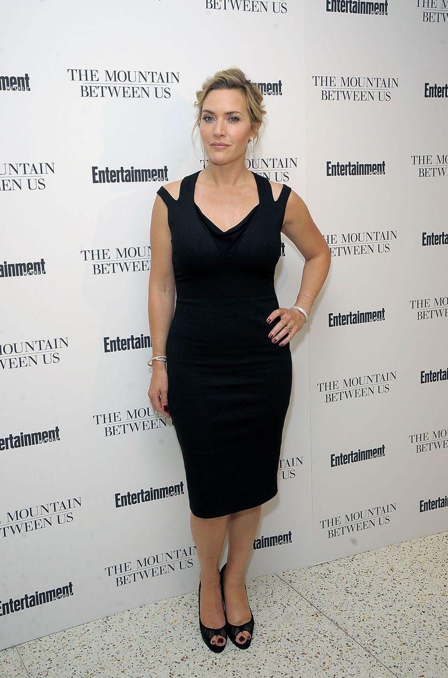 Kate Winslet à l'avant-première du film «La Montagne entre nous» à New York en septembre 2017