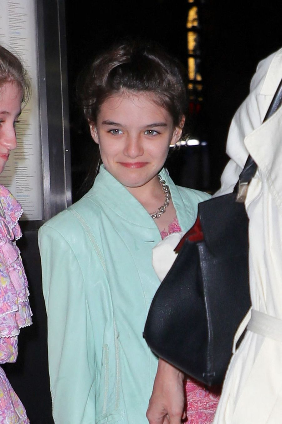 Suri Cruise à New York le 18 avril 2019