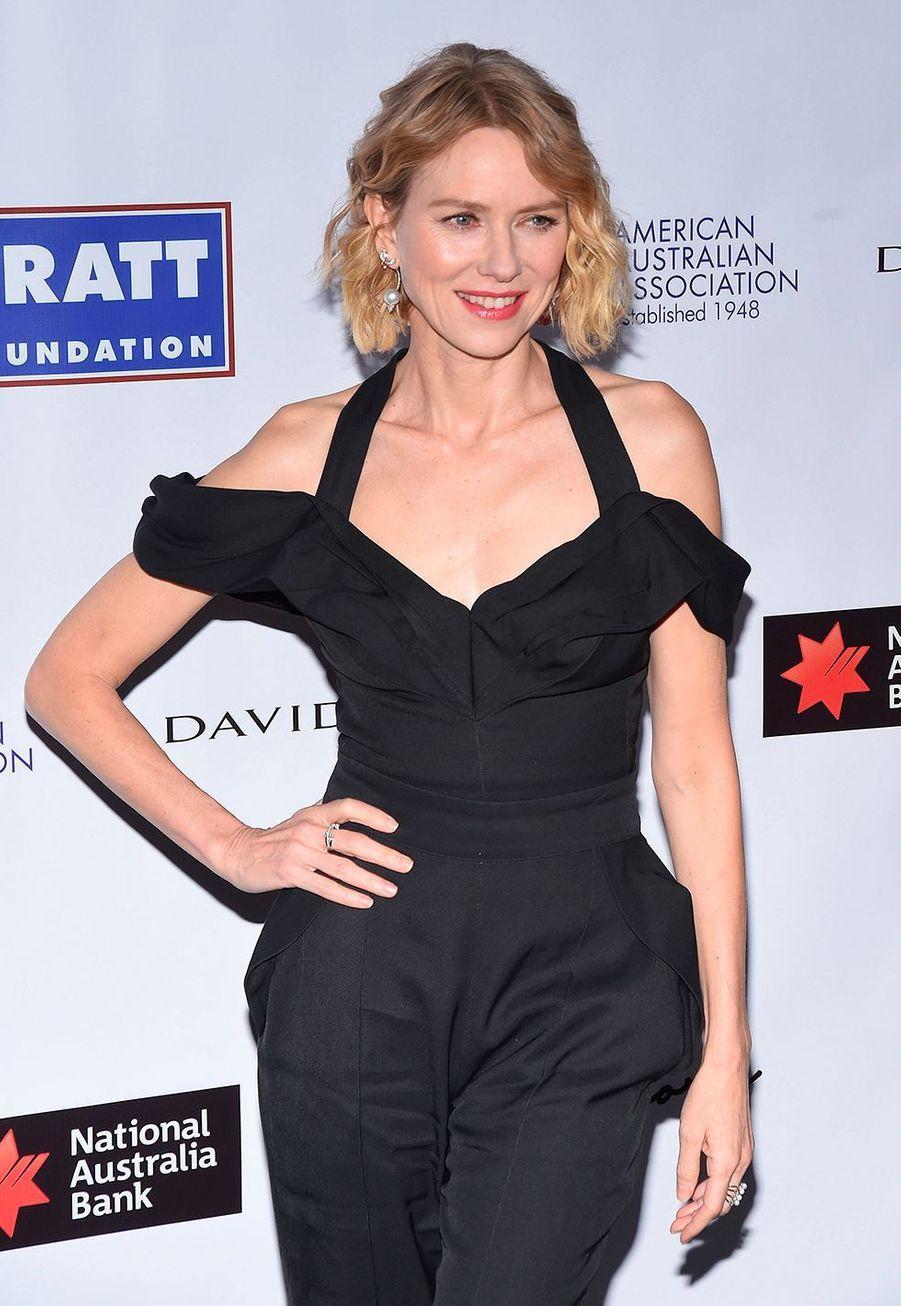 """Naomi Wattslors dela soirée des """"American Australian Association Arts Awards"""" à New York, le 30 janvier 2020."""