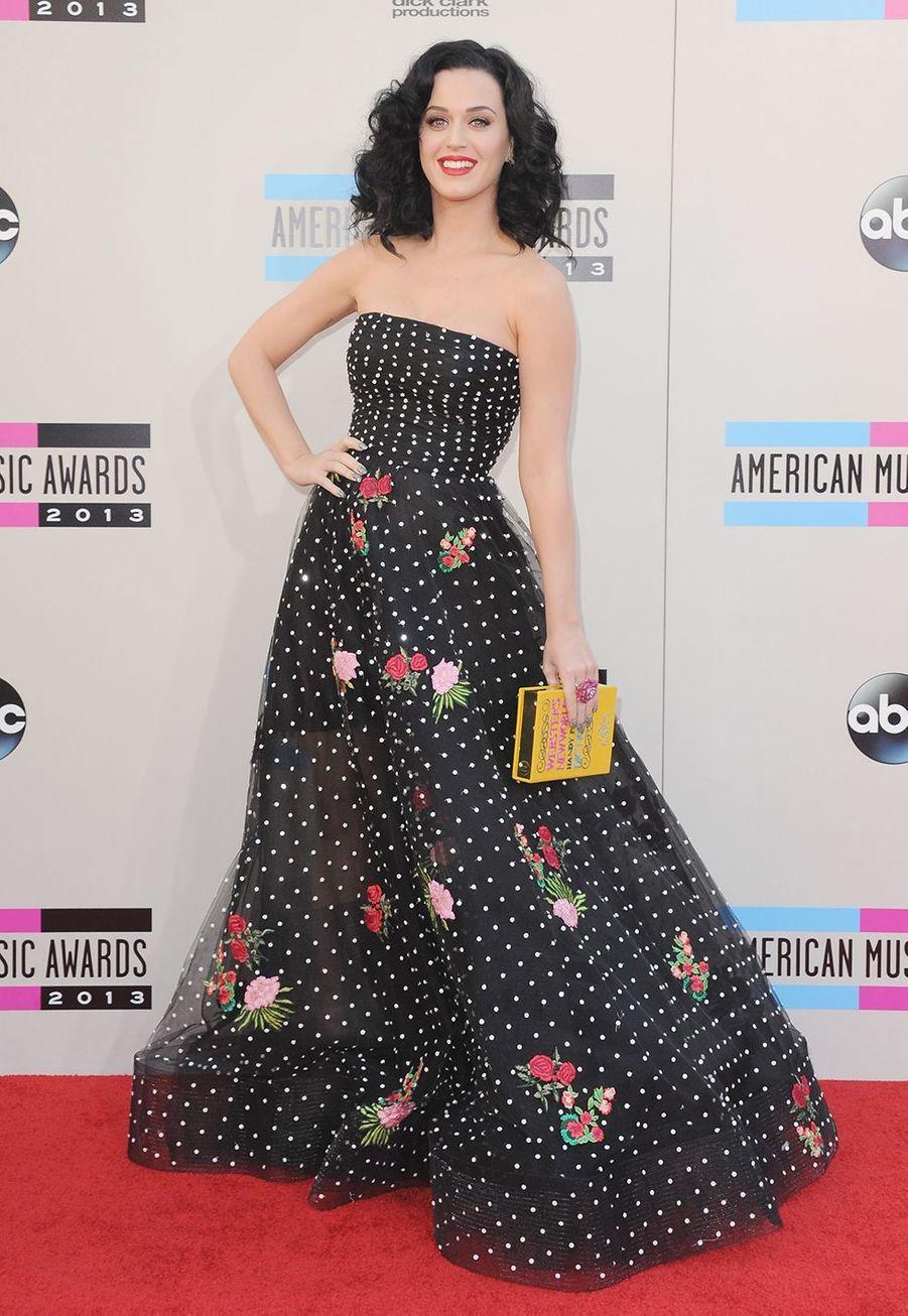 Katy Perry aux American Music Awards en novembre 2013.