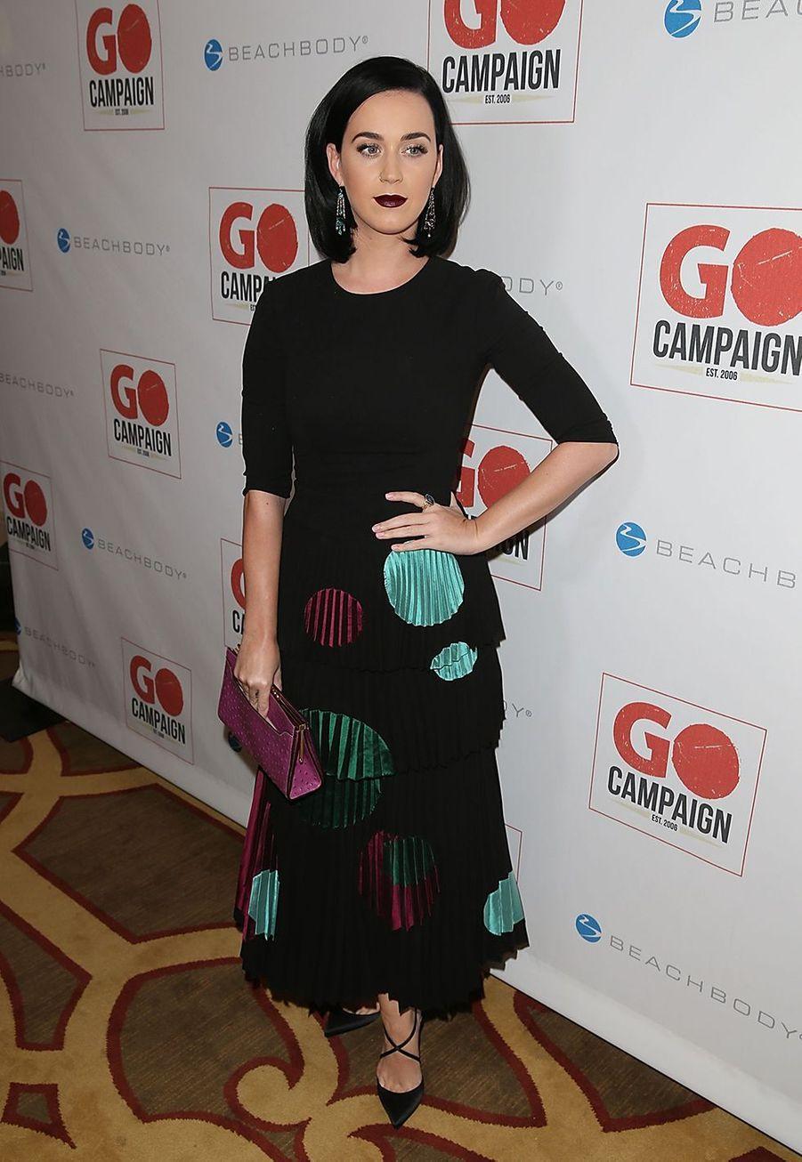 Katy Perry au GO Campaign Gala en novembre 2015.