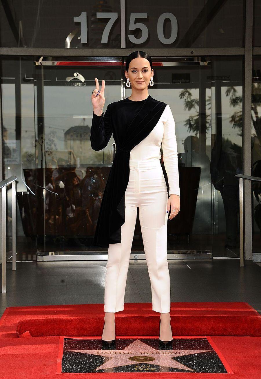 Katy Perry à Los Angeles en novembre 2016.