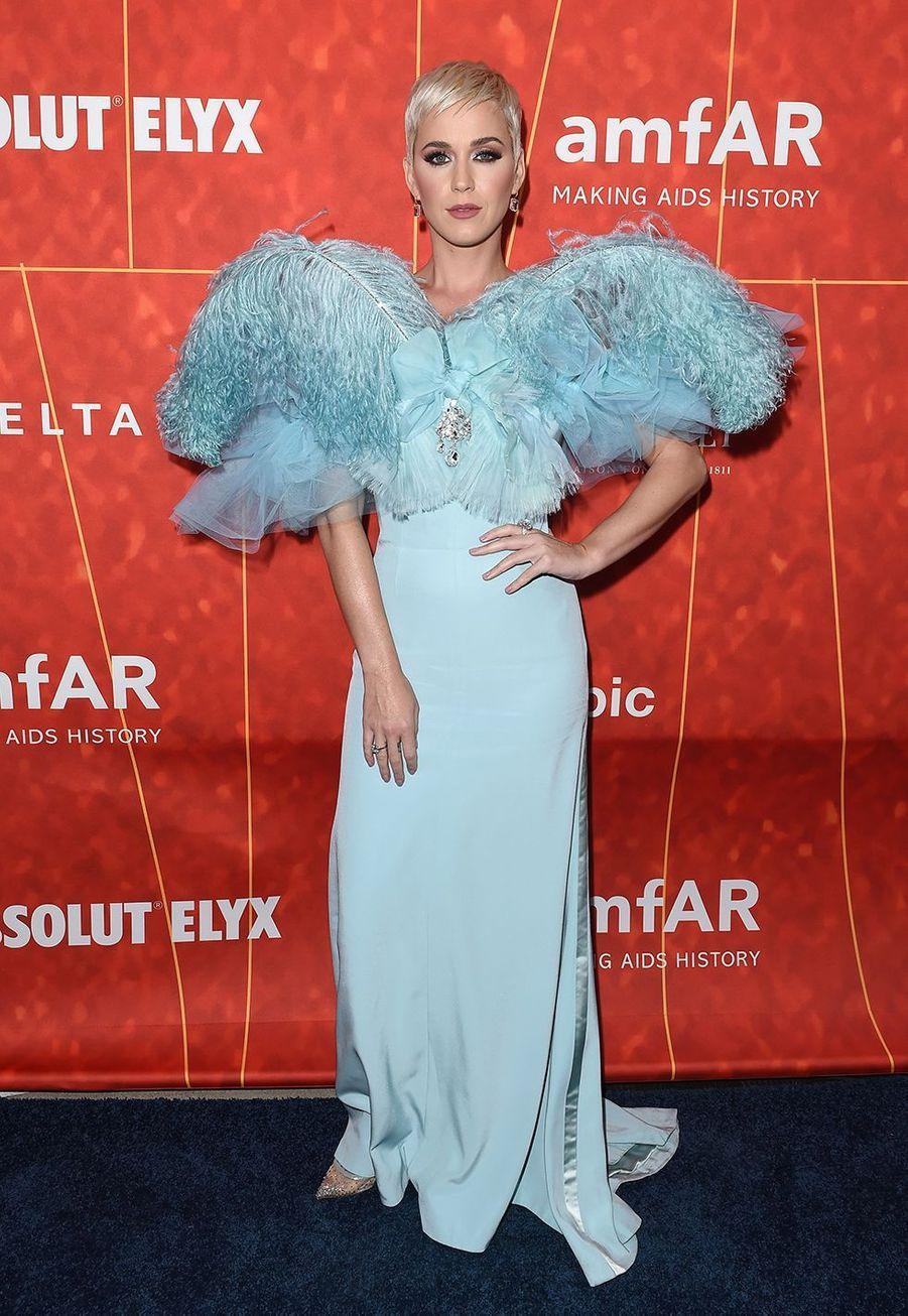 Katy Perry au amfAR Gala à Los Angeles en octobre 2018.
