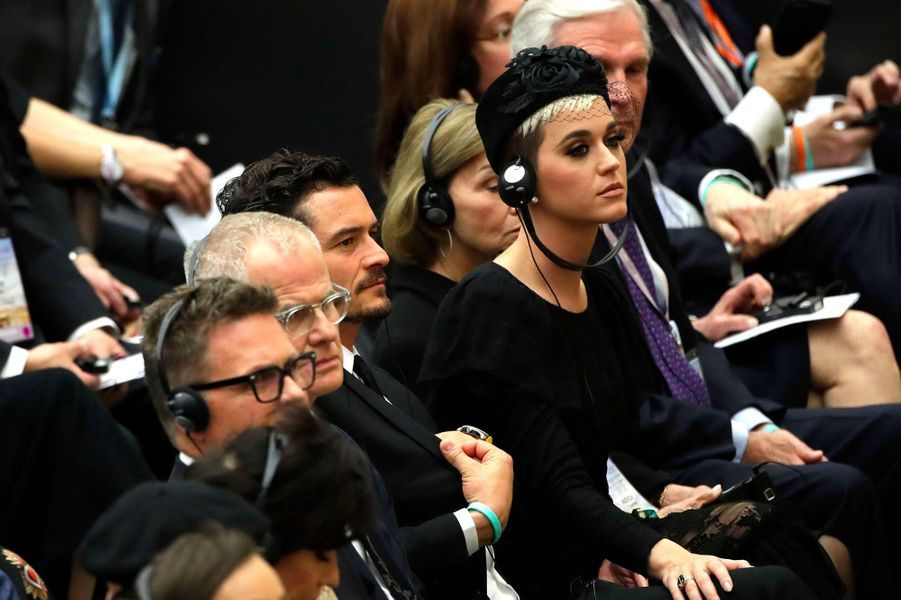Katy Perry et Orlando Bloom au Vatican