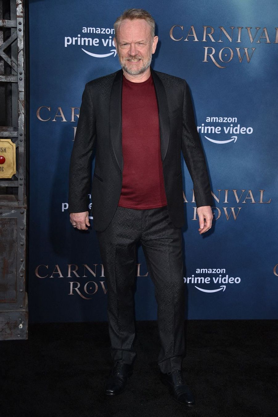 "Jared Harris (""Mad Men"", ""The Crown"") à la première de ""Carnival Row"", le 21 août 2019 à Los Angeles."