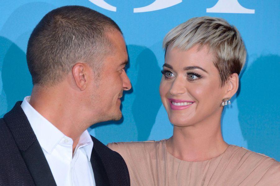 Orlando Bloom et Katy Perry au Gala for the Global Ocean, à Monte-Carlo, mercredi 26 septembre