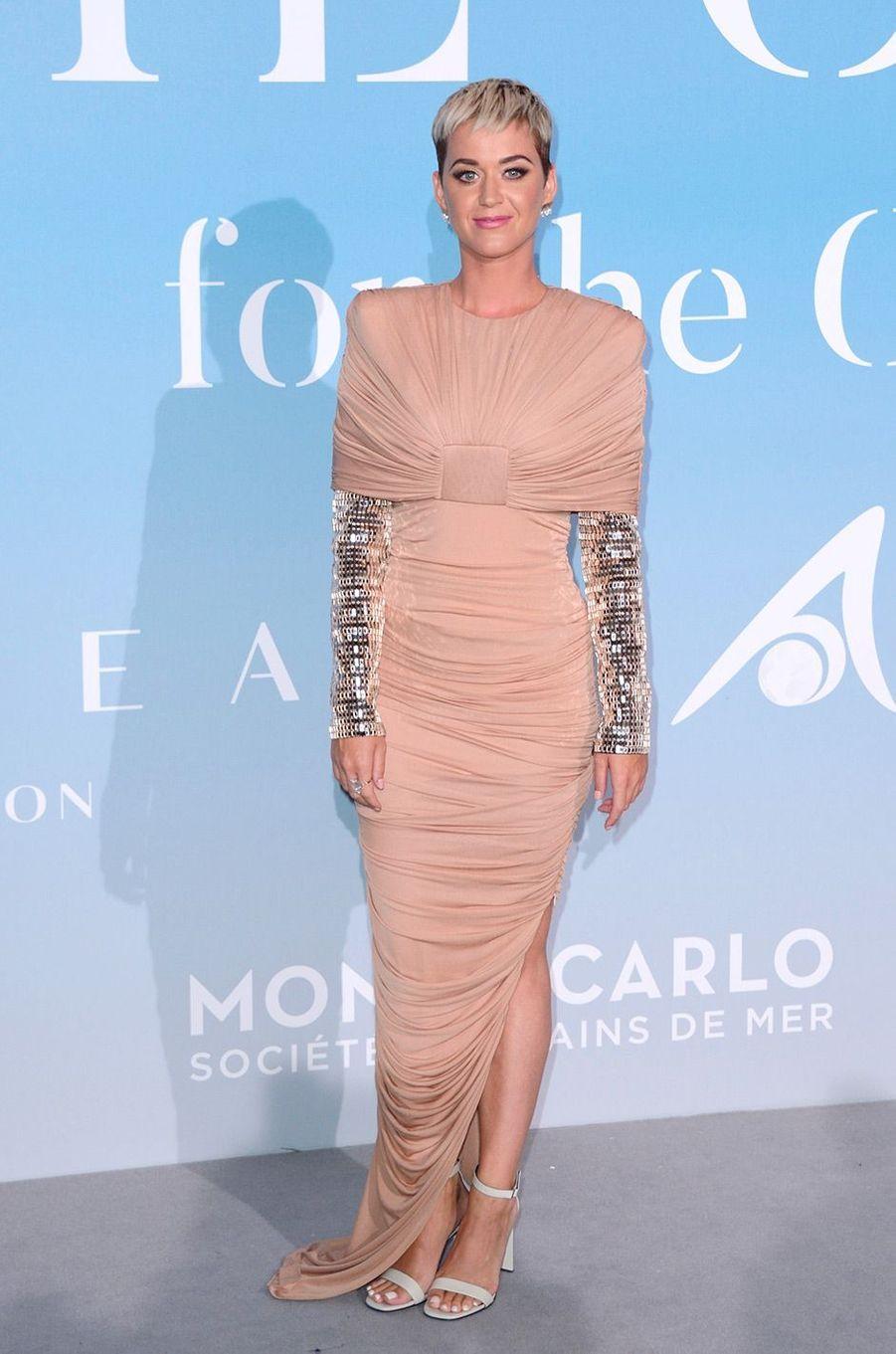 Katy Perry au Gala for the Global Ocean, à Monte-Carlo, mercredi 26 septembre