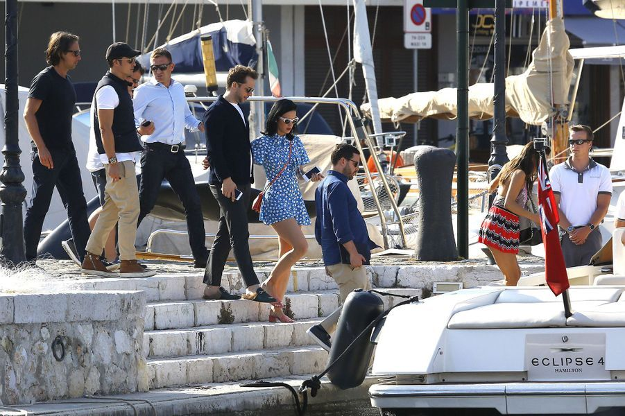 Orlando Bloom et Katy Perry au festival de Cannes, en mai 2016.