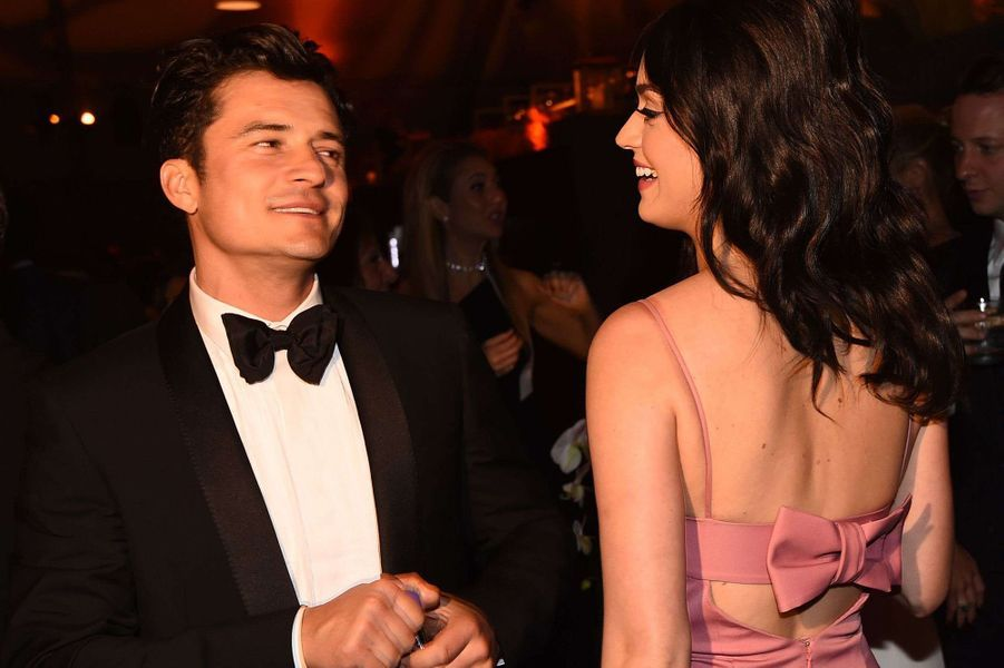Orlando Bloom et Katy Perry à Los Angeles.