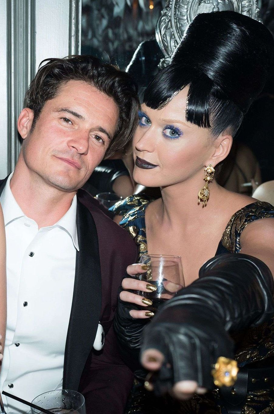 Orlando Bloom et Katy Perry à New York en 2016.
