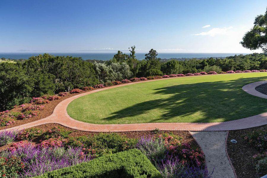 La propriété de Katy Perry et Orlando Bloom à Montecito, près de Santa Barbara