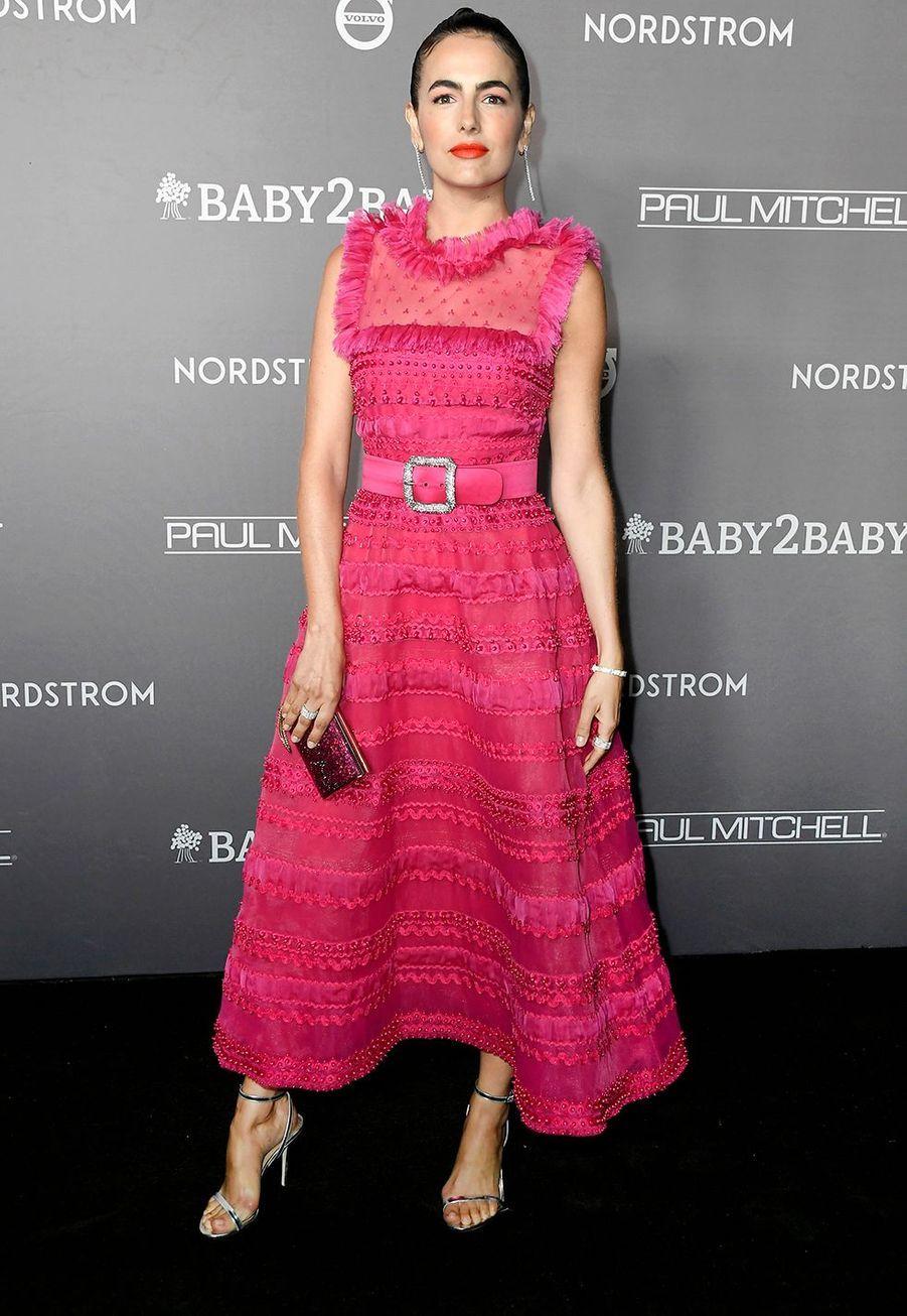 Camilla Bellelors du gala Baby2Baby à Culver City en Californie, le 9 novembre 2019.