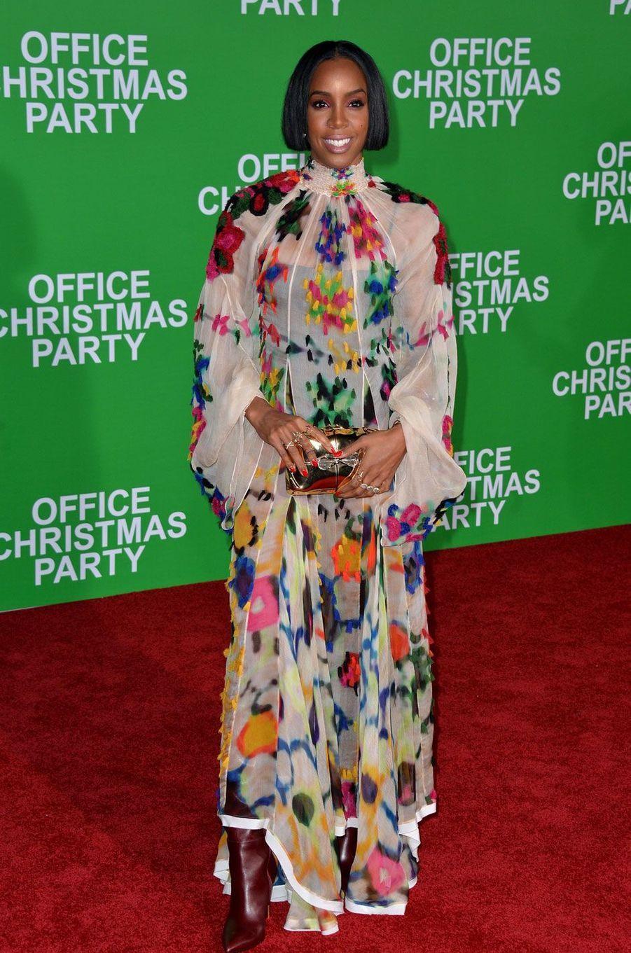 Kelly Rowland pour la première du film«Joyeux Bordel!»