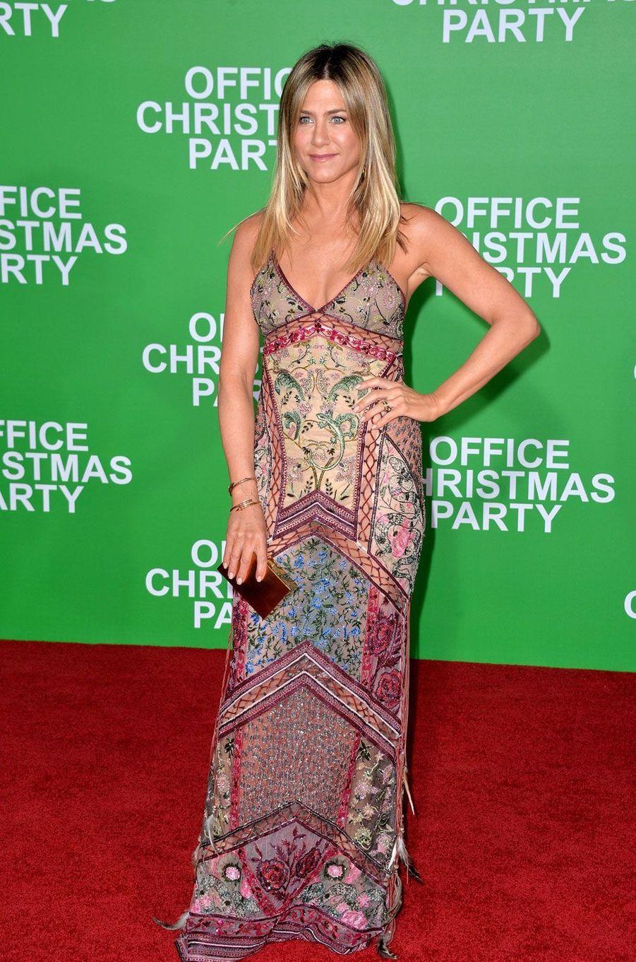 Jennifer Aniston pour la première du film«Joyeux Bordel!»