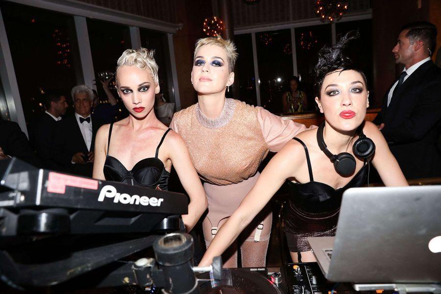 Katy Perryà l'after-party du Met Gala 2017.