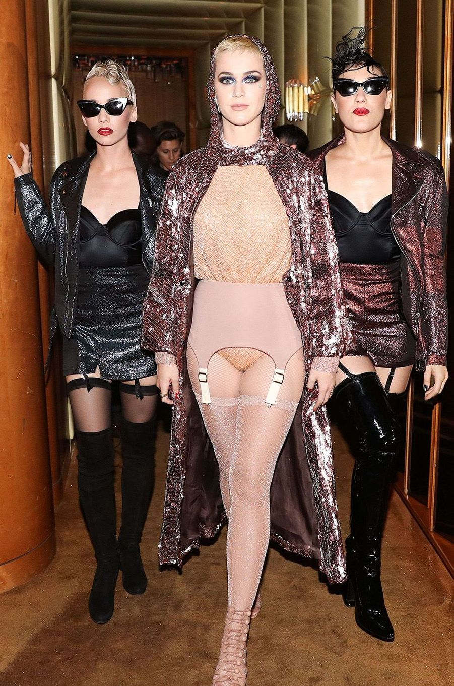 Katy Perry à l'after-party du Met Gala 2017.