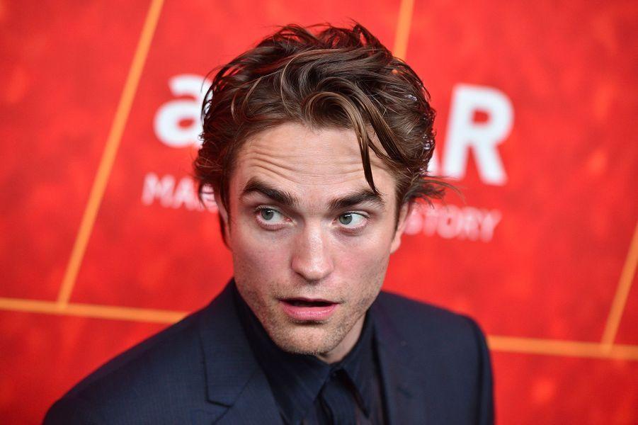 Robert Pattinson au gala de l'amfAR, jeudi 18 octobre