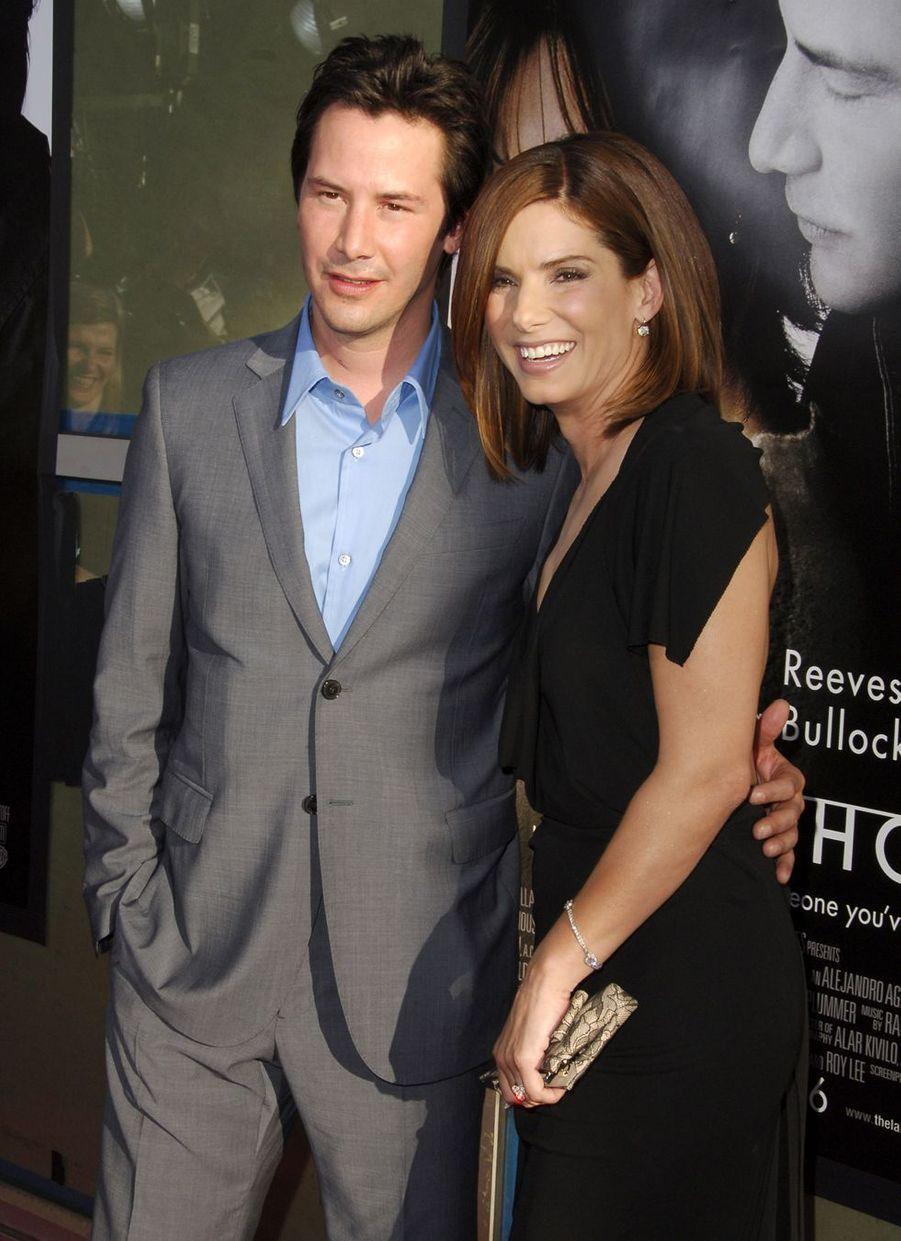 Keanu Reeves de nouveau avec Sandra Bullock en 2006 pour «Entre deux rives»