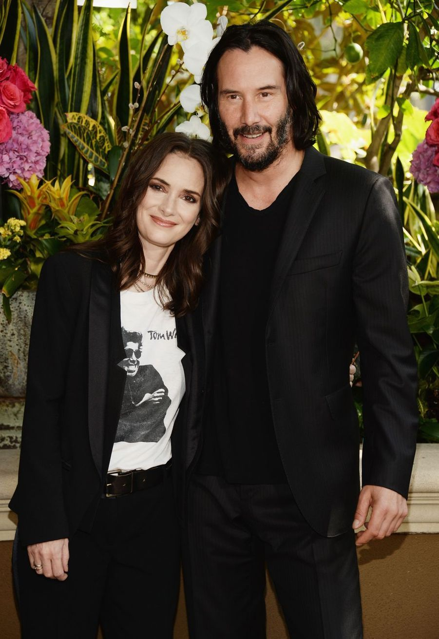 Keanu Reeves en 2018 avec Winona Ryder pour «Destination mariage et plus si affinités...»