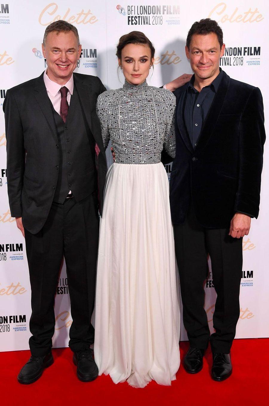 Wash Westmoreland, Keira Knightley et Dominic West