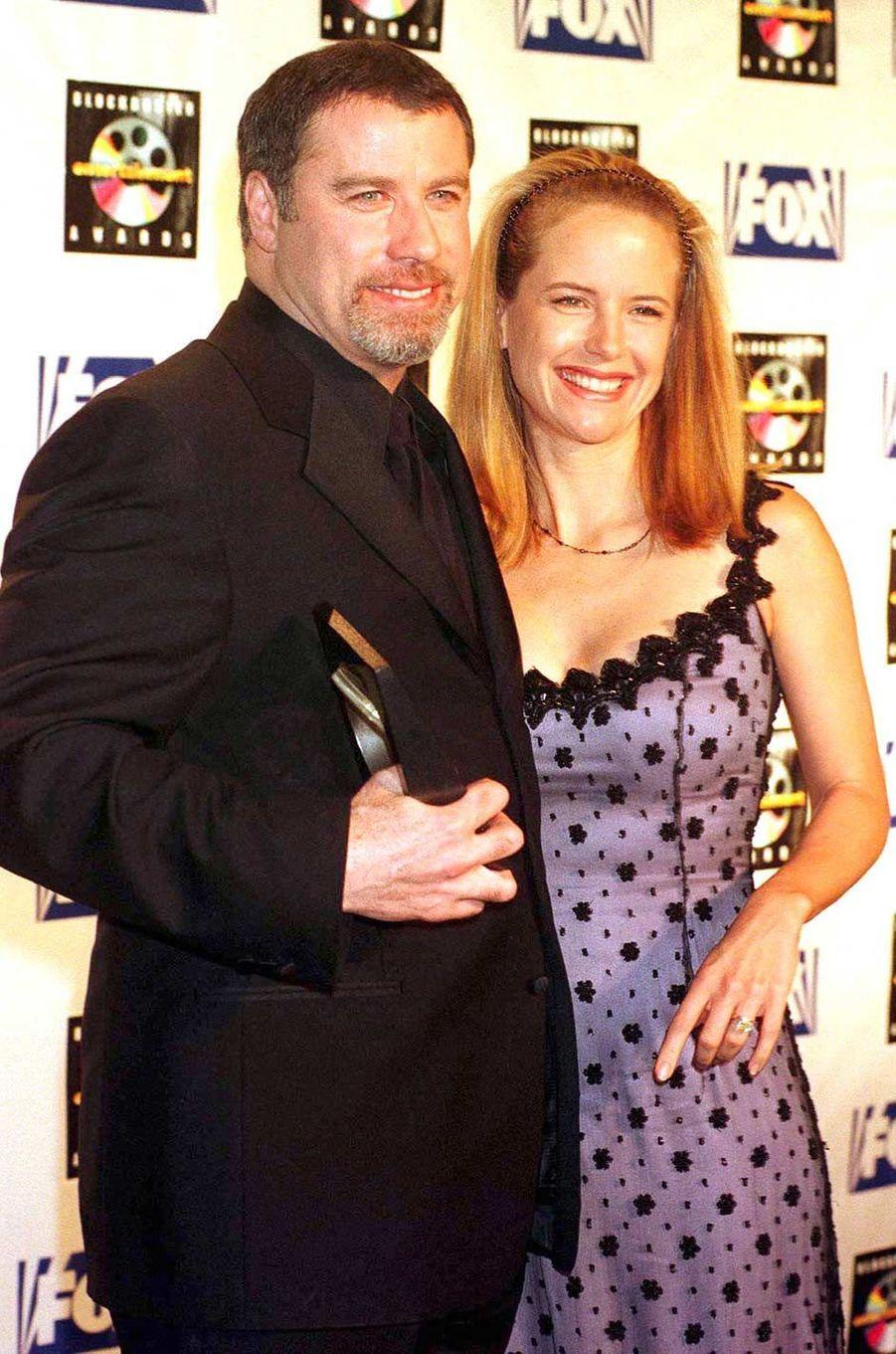John Travolta et Kelly Preston, en mai 1999.