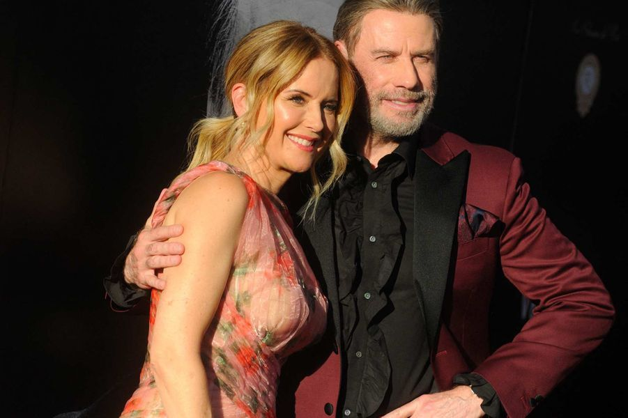 Kelly Preston et John Travolta, en juin 2018.