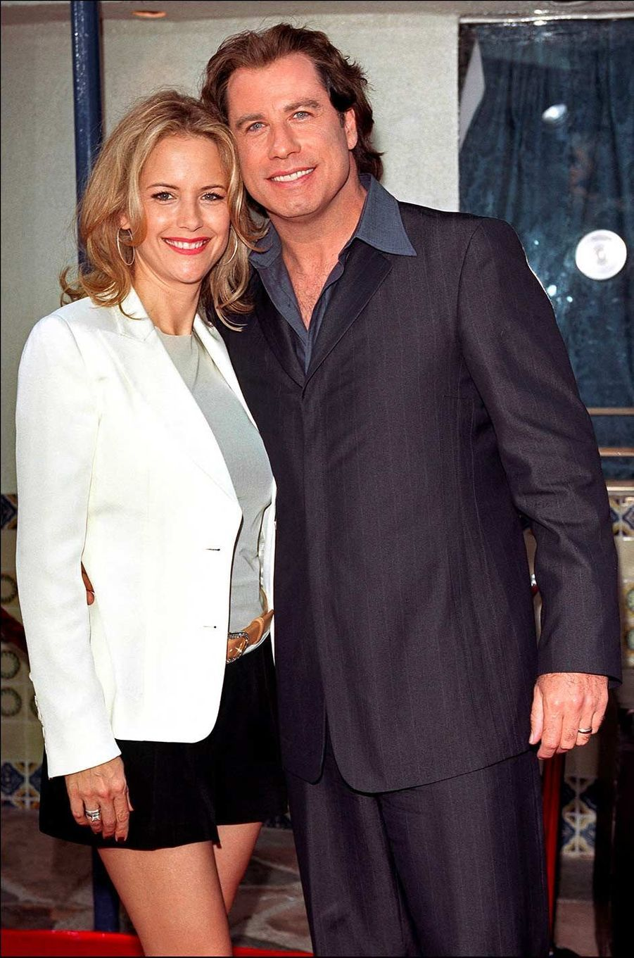 Kelly Preston et John Travolta, en juin 2001.