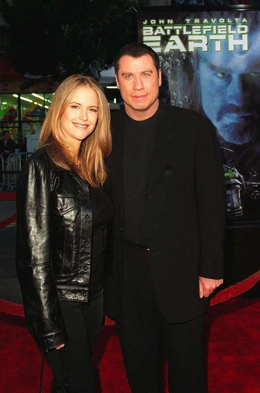 Kelly Preston et John Travolta, en juin 2000.