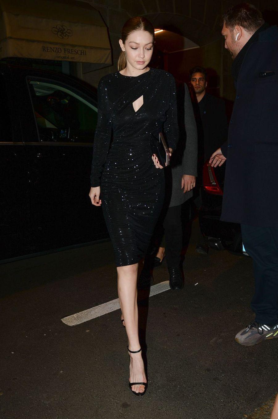 Gigi Hadidà Milan le 22 février 2019