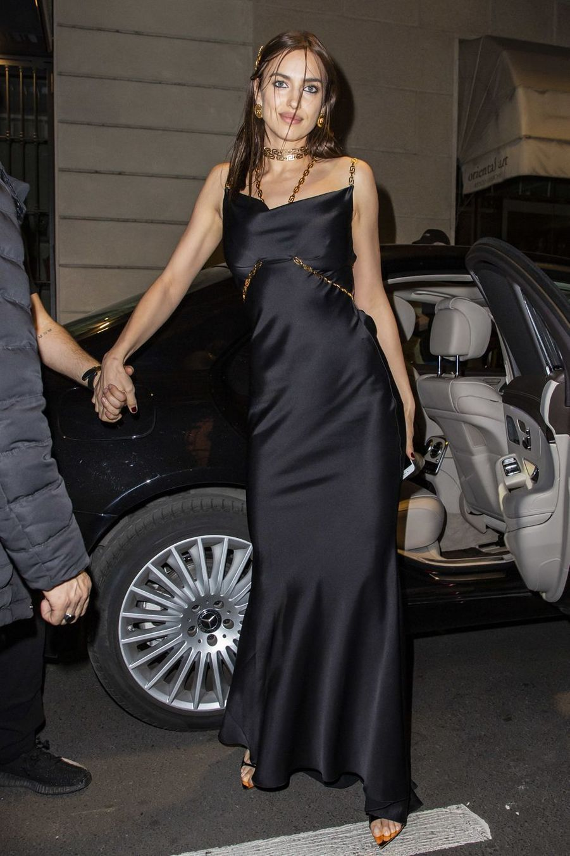 Irina Shayk à Milan le 22 février 2019