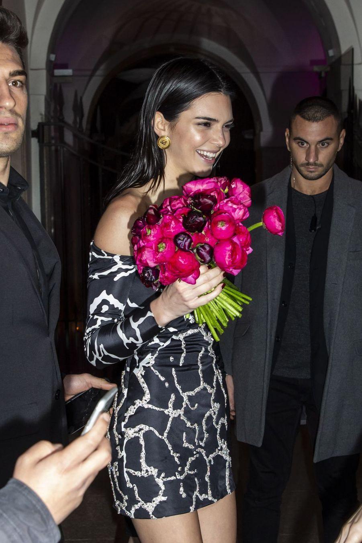 Kendall Jenner à Milan le 22 février 2019