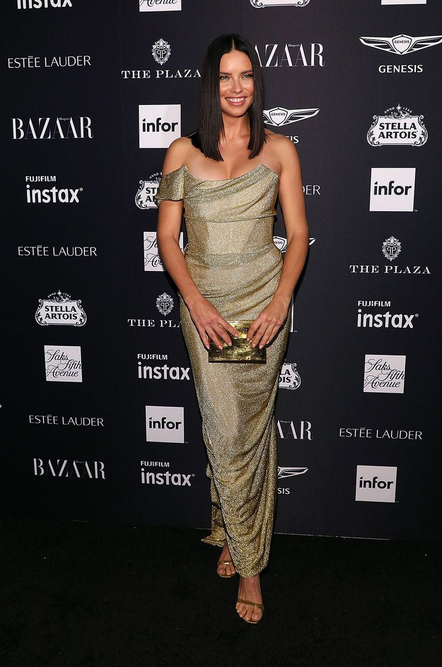 Adriana Lima à la soirée Harper's Bazaar Icons, vendredi 7 septembre