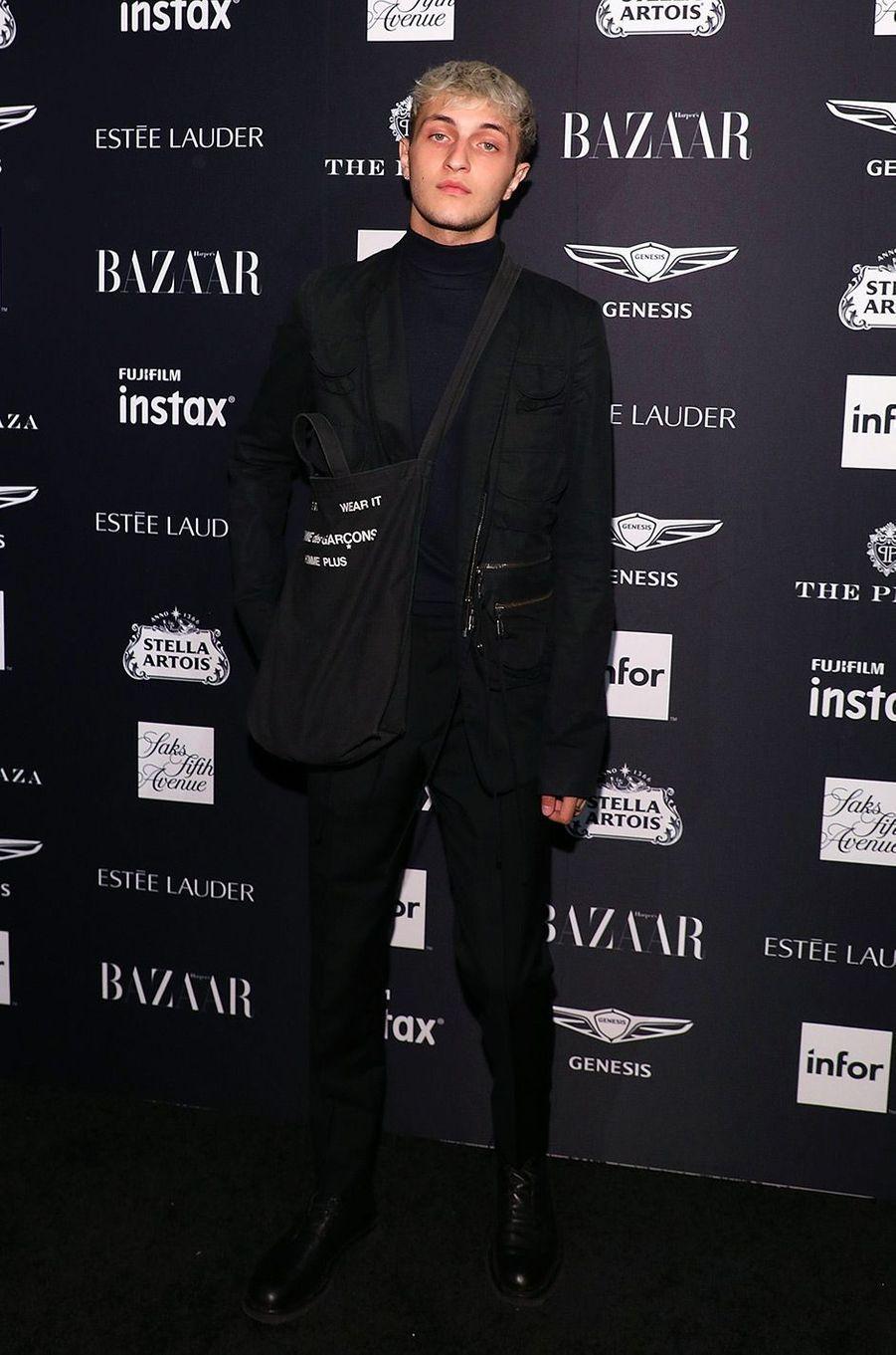 Anwar Hadid à la soirée Harper's Bazaar Icons, vendredi 7 septembre
