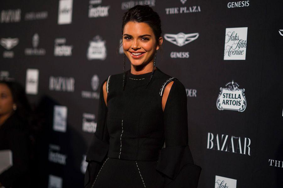 Kendall Jenner à la soirée Harper's Bazaar Icons, vendredi 7 septembre