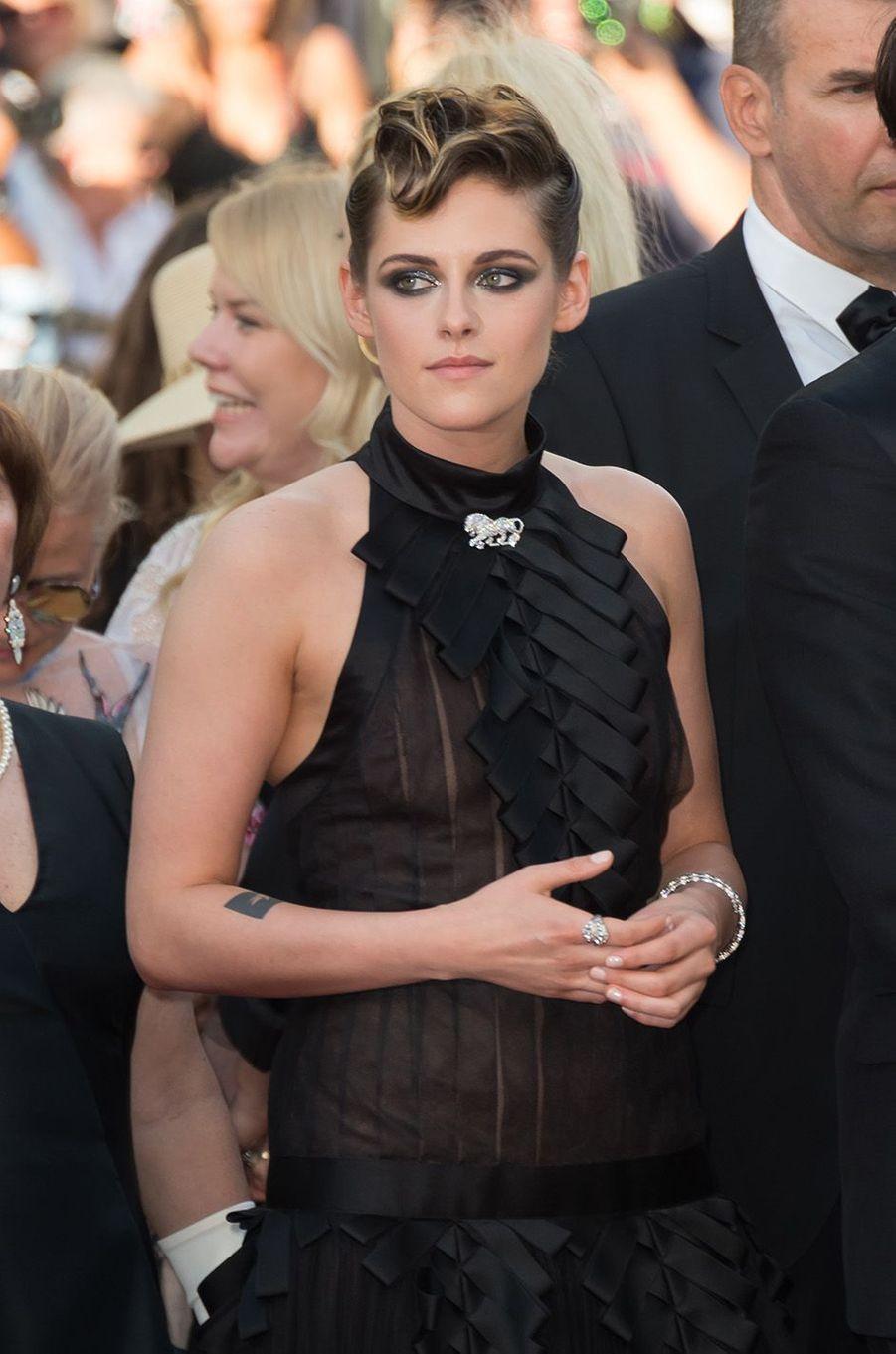 Kristen Stewart a osé la transparence à Cannes.