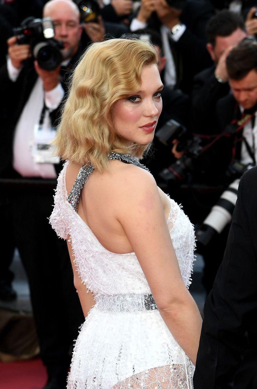 Lea Seydoux a osé la transparence à Cannes.